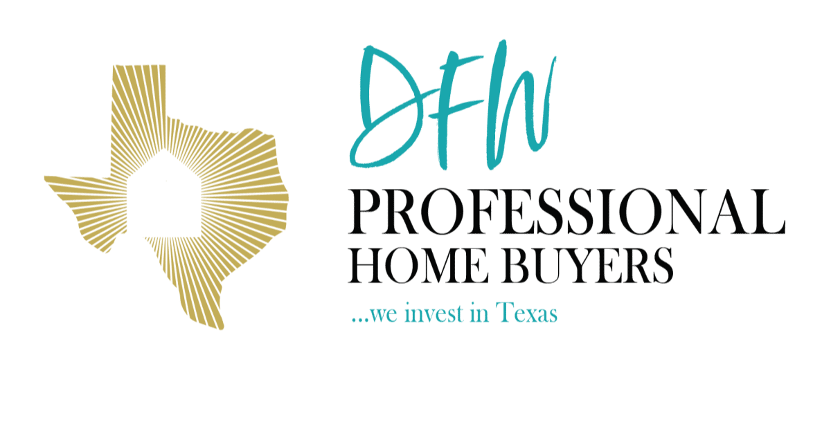 Cash Offers, DFW, Texas, DFW Professional Home Buyers Cash Home Buyers Logo