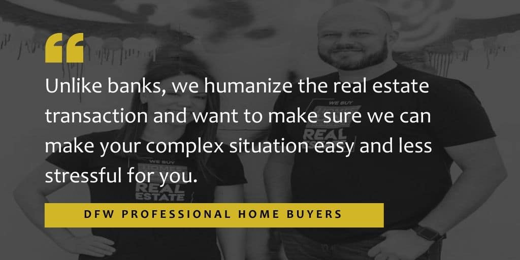 DFW Professional Home Buyers Humanize Real Estate in Texas