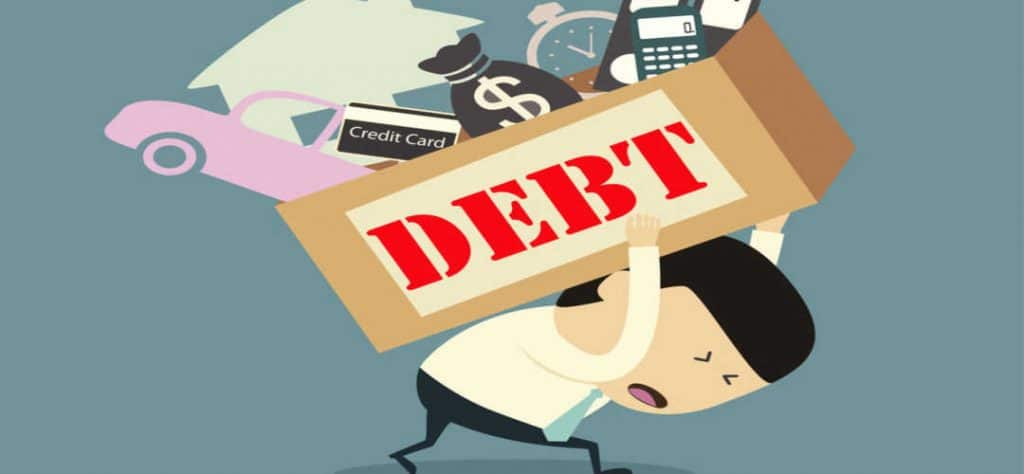 Texan carries a lot of debt including mortgage and car notes