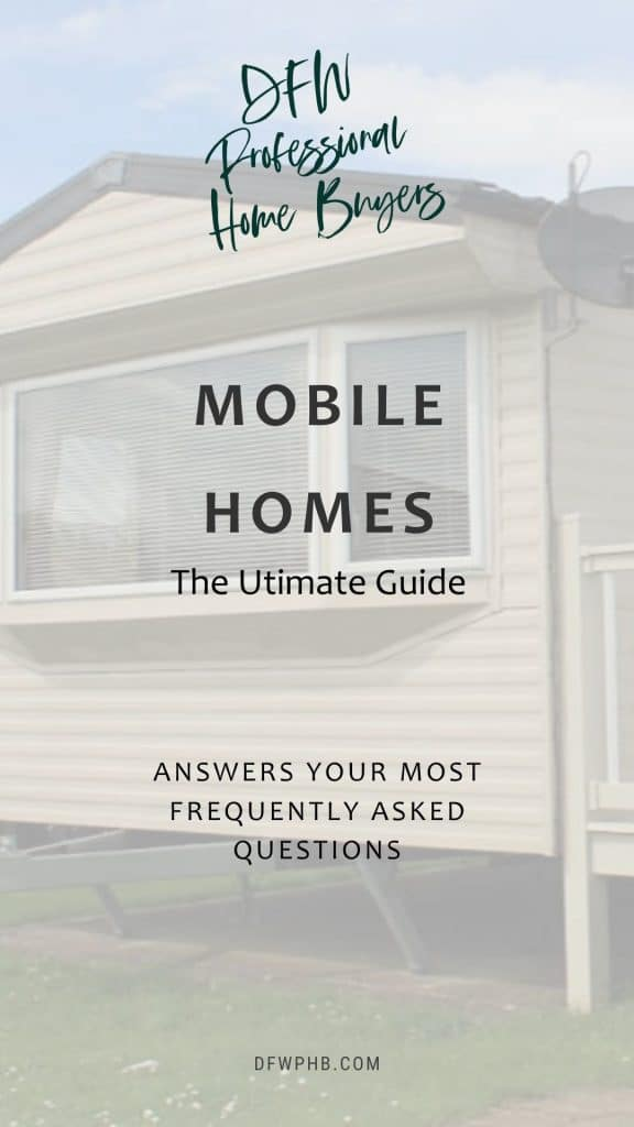 An image of a mobile home in Texas