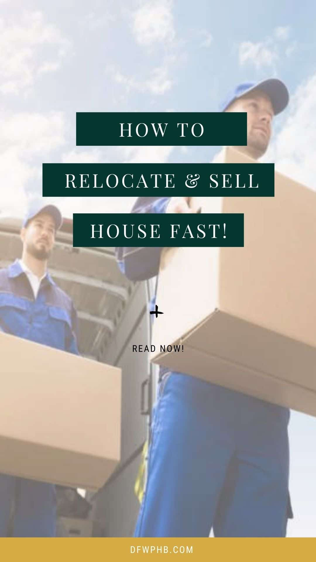 A guide on relocation and sell house fast in Texas