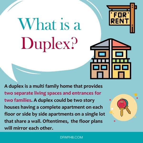 An image answering what is a duplex