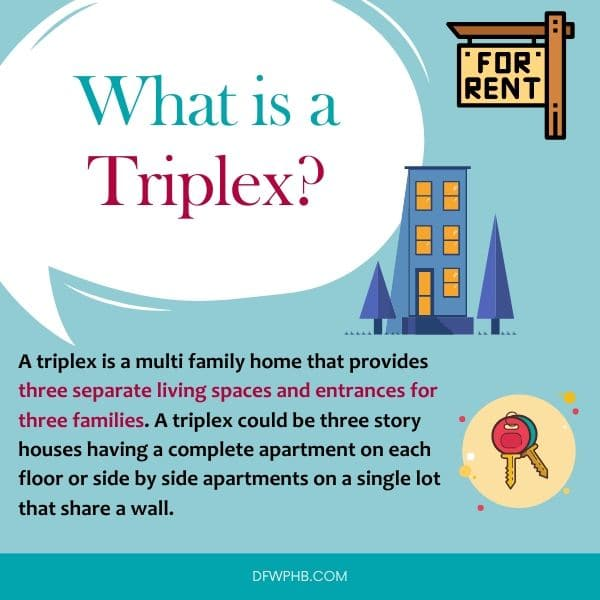 An image answering what is a triplex
