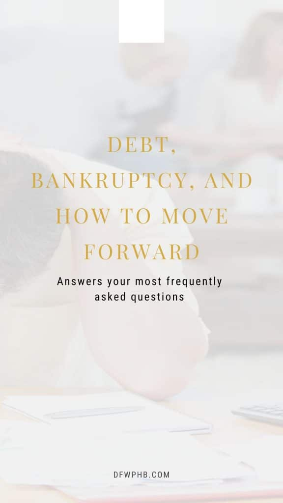 A guide to debt, bankruptcies, and what to do about it