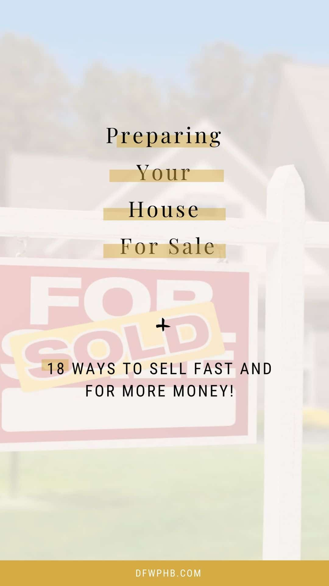 A guide to Preparing Your House For Sale